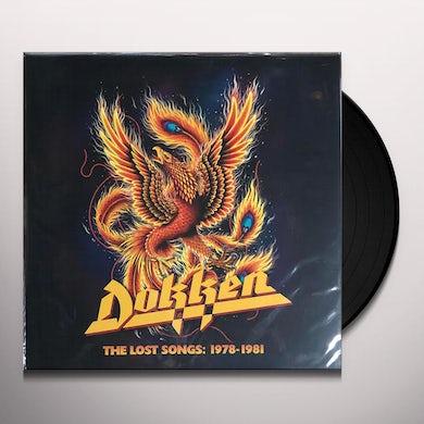 Dokken LOST SONGS: 1978-1981 Vinyl Record