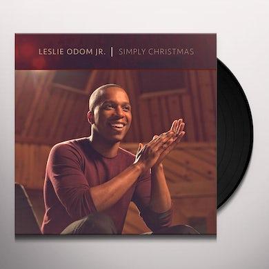 Leslie Odom Jr SIMPLY CHRISTMAS Vinyl Record