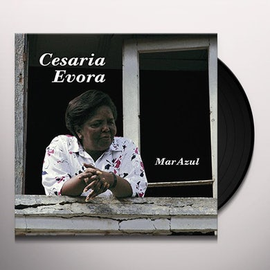 Cesaria Evora MAR AZUL Vinyl Record
