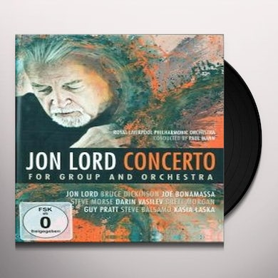 Jon Lord CONCERTO FOR GROUP & ORCHESTRA Vinyl Record