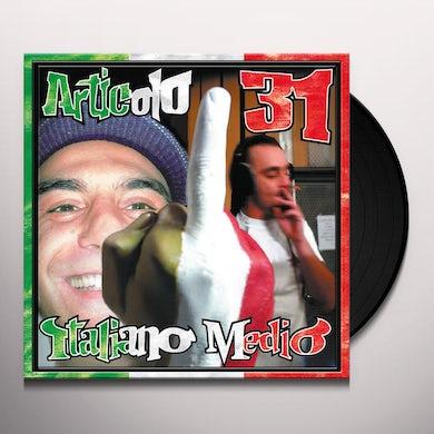 Articolo 31 ITALIANO MEDIO Vinyl Record