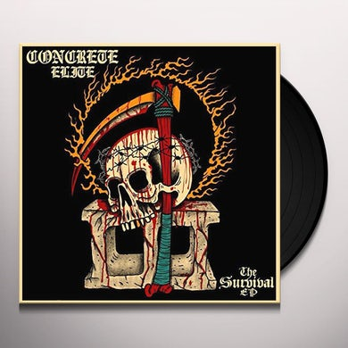 Concrete Elite SURVIVAL Vinyl Record