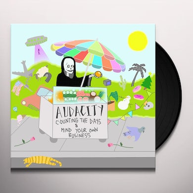 Audacity COUNTING THE DAYS Vinyl Record