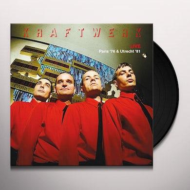 Kraftwerk LIVE PARIS 76 & UTRECHT 81 Vinyl Record