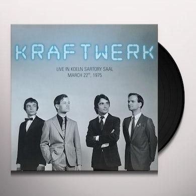 Kraftwerk LIVE IN KOELN SARTORY SAAL 22 MARCH 1975 Vinyl Record