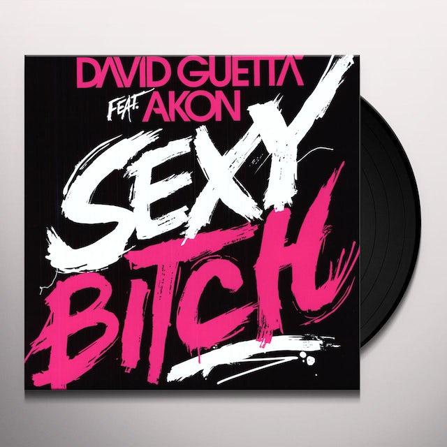 David Guetta SEXY BITCH (FEAT. AKON) Vinyl Record