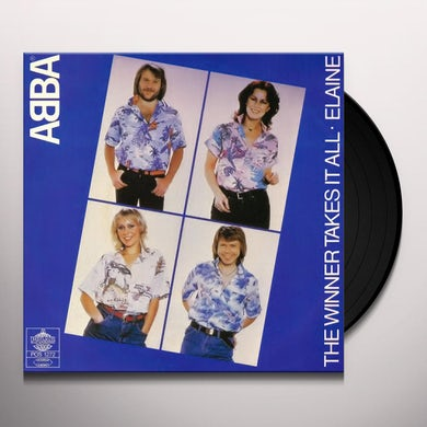 Abba WINNER TAKES IT ALL Vinyl Record