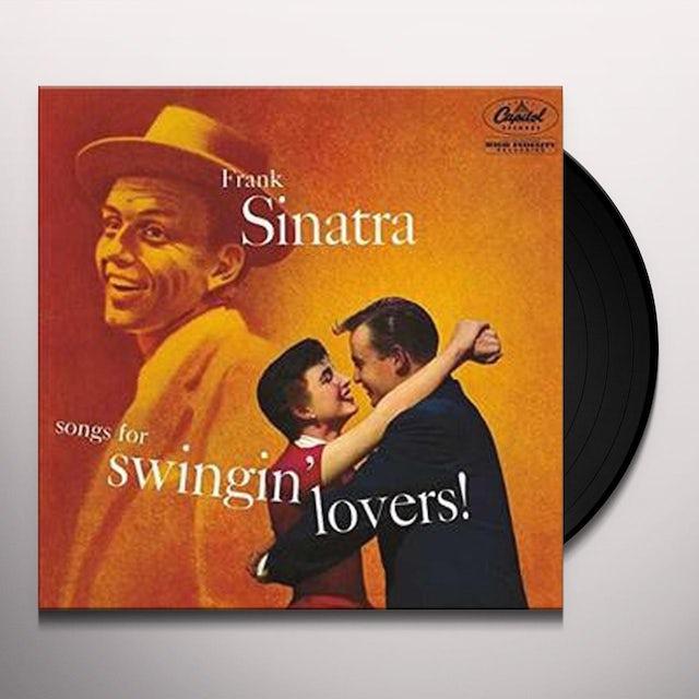Frank Sinatra SONGS FOR SWINGIN LOVERS Vinyl Record