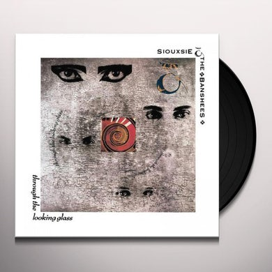 Siouxsie And The Banshees THROUGH THE LOOKING GLASS Vinyl Record