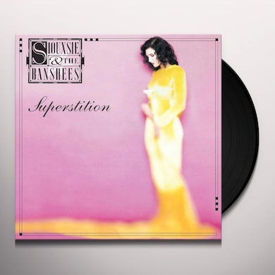 Siouxsie And The Banshees SUPERSTITION Vinyl Record