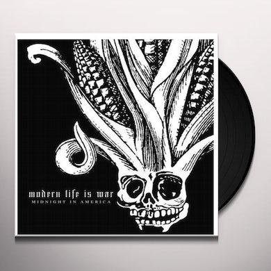Modern Life Is War MIDNIGHT IN AMERICA Vinyl Record