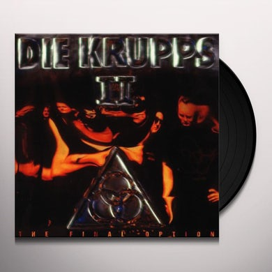 Die Krupps II: THE FINAL OPTION Vinyl Record