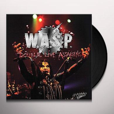W.A.S.P DOUBLE LIVE ASSASSINS Vinyl Record