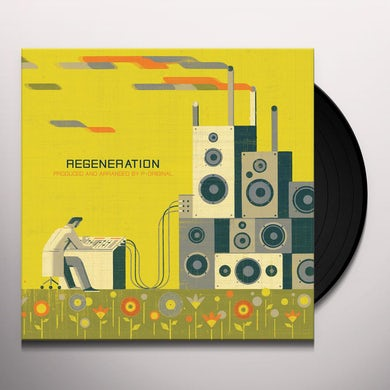 P-Original REGENERATION Vinyl Record