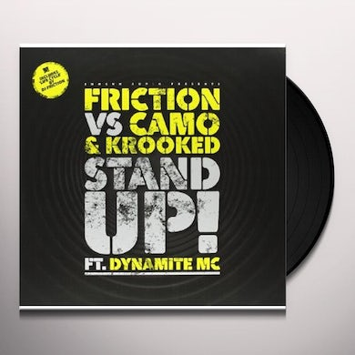 Friction STAND UP (VS CAMO & KROOKED FT DYNAMITE)/LIFE Vinyl Record