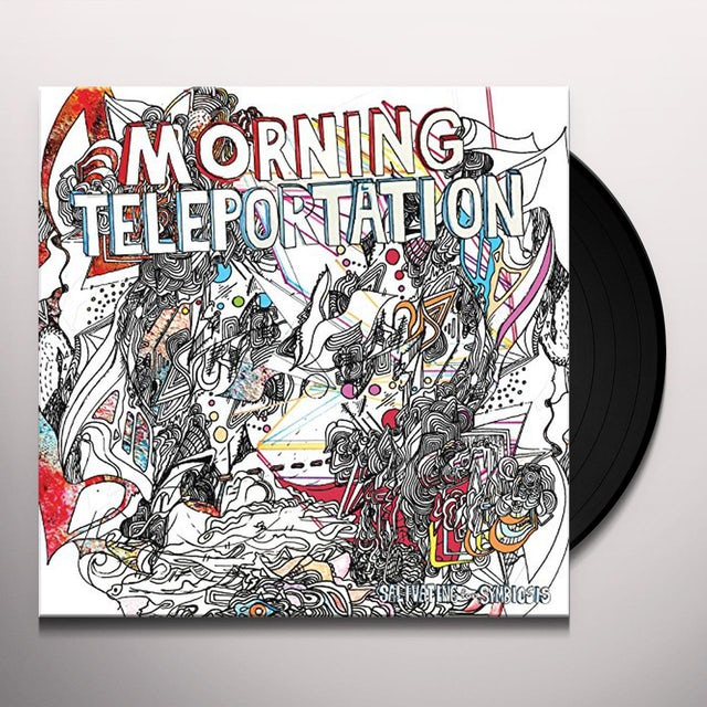 Morning Teleportation SALIVATING FOR SYMBIOSIS Vinyl Record
