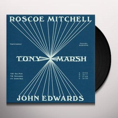 Roscoe Mitchell / Tony Marsh / John Edwards IMPROVISATIONS Vinyl Record