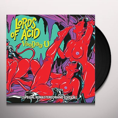 Lords Of Acid VOODOO-U (SPECIAL REMASTERED BAND EDITION) Vinyl Record - Limited Edition
