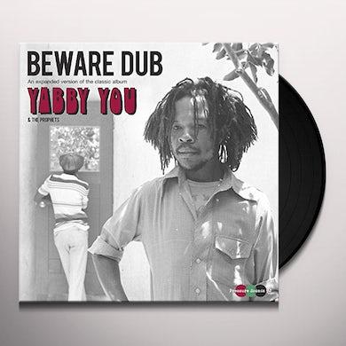 Yabby You BEWARE DUB Vinyl Record