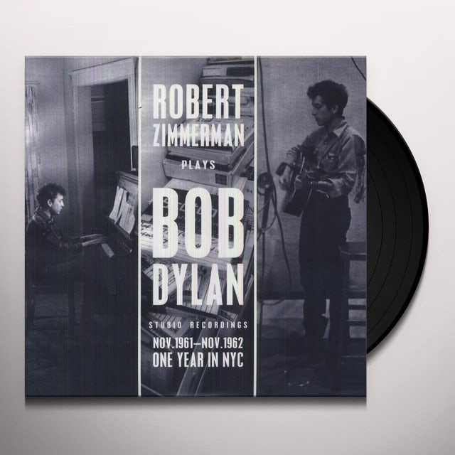 ROBERT ZIMMERMAN PLAYS BOB DYLAN 11-19-61 (Vinyl)