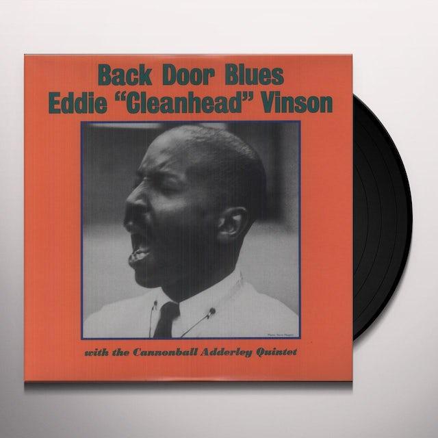 """Eddie """"Cleanhead"""" Vinson BACK DOOR BLUES WITH CANNONBALL ADDERLEY (Vinyl)"""