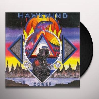Hawkwind ZONES Vinyl Record