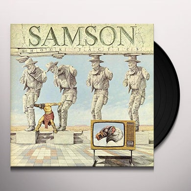 Samson SHOCK TACTICS Vinyl Record