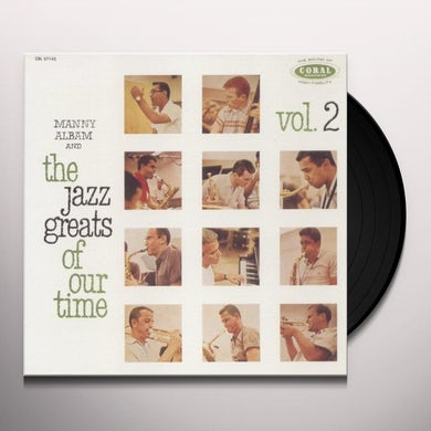 JAZZ GREATS OF OUR TIME 2 Vinyl Record