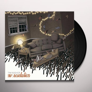 Tim Kasher NO RESOLUTION Vinyl Record
