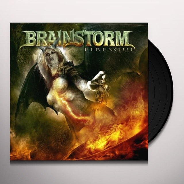 Brainstorm FIRESOUL (BLACK VINYL) Vinyl Record