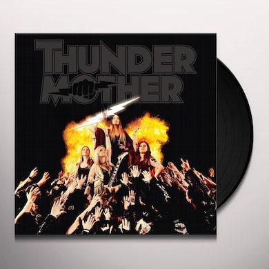 Thundermother HEAT WAVE (YELLOW VINYL) Vinyl Record