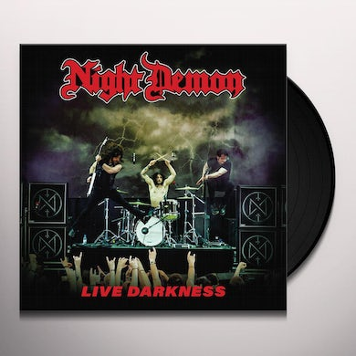 NIGHT DEMON LIVE DARKNESS Vinyl Record