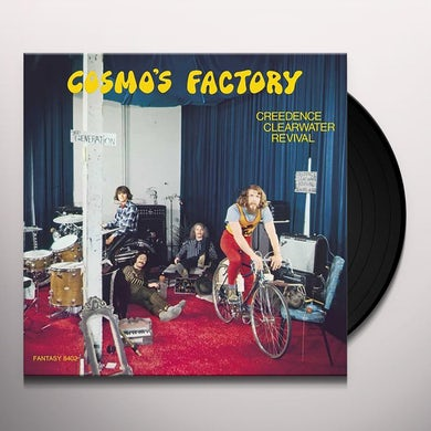 Creedence Clearwater Cosmo's Factory (Half-Speed Master LP) Vinyl Record