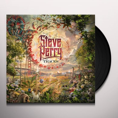 Steve Perry TRACES Vinyl Record