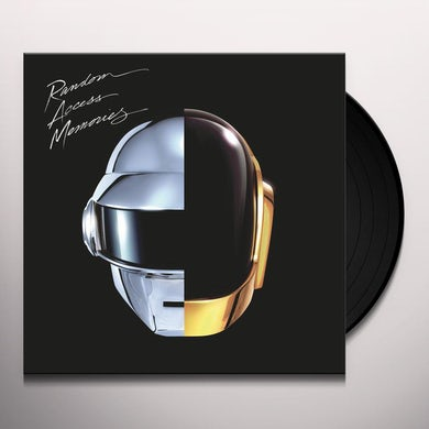 Daft Punk Random Access Memories Vinyl Record