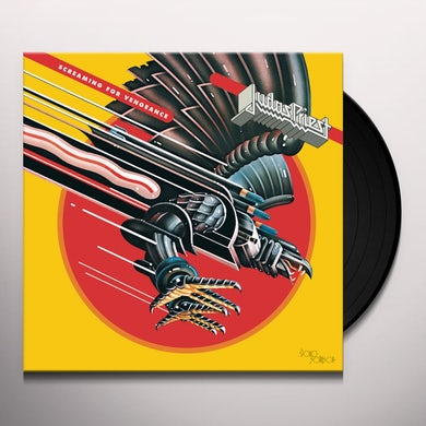 Judas Priest SCREAMING FOR VENGEANCE Vinyl Record