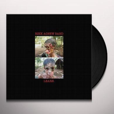 Rikk Agnew LEARN Vinyl Record