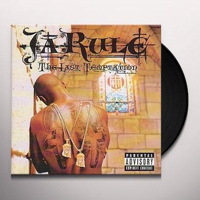 Ja Rule LAST TEMPTATION Vinyl Record - Canada Release