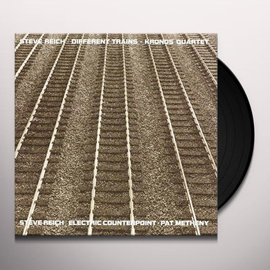 DIFFERENT TRAINS / ELECTRIC COUNTERPOINT Vinyl Record