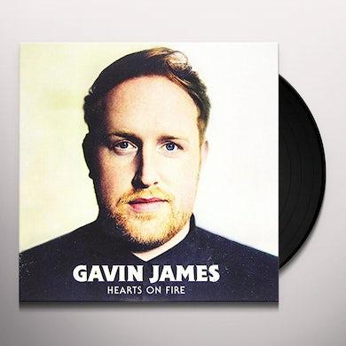 Gavin James HEARTS ON FIRE Vinyl Record