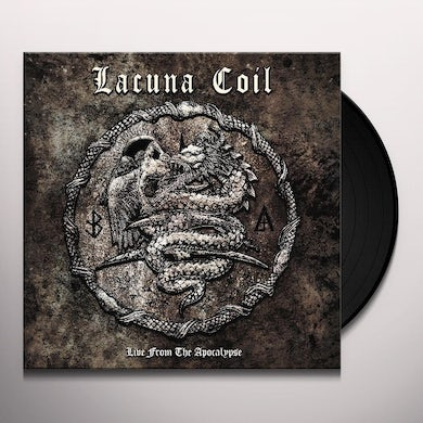 Lacuna Coil LIVE FROM THE APOCALYPSE Vinyl Record