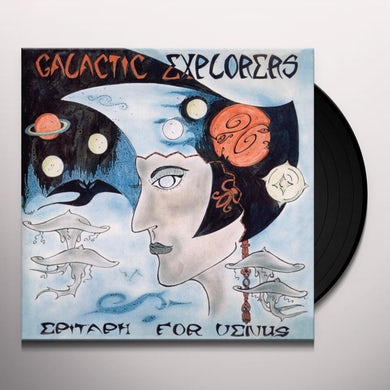 Galactic Explorers EPITAPH FOR VENUS Vinyl Record
