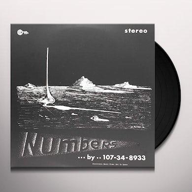 107-34-8933 (Nik Pascal Raicevic) NUMBERS Vinyl Record
