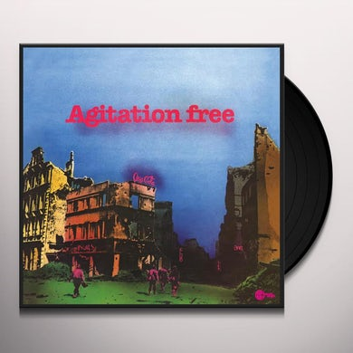 Agitation Free LAST Vinyl Record