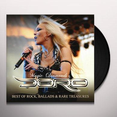 Doro MAGIC DIAMONDS - BEST OF ROCK, BALLADS & RARE TREASURES (4LP/CD/POSTER) Vinyl Record
