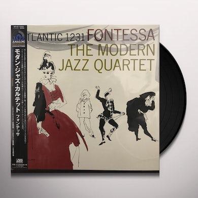 The Modern Jazz Quartet FONTESSA Vinyl Record