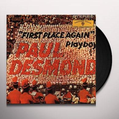 Paul Desmond FIRST PLAYS AGAIN Vinyl Record