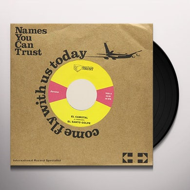 El Santo Golpe LA COSECHA Vinyl Record