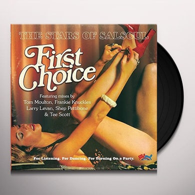 First Choice STARS OF SALSOUL (FRANKIE KNUCKLES & TEE SCOTT) Vinyl Record