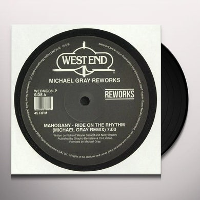 Michael Gray WEST END REWORKS Vinyl Record